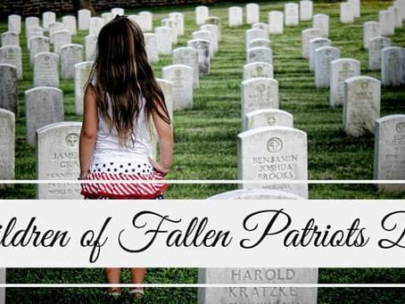 Children Of Fallen Patriots Day