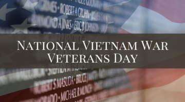 National Vietnam War Veterans Day 2021