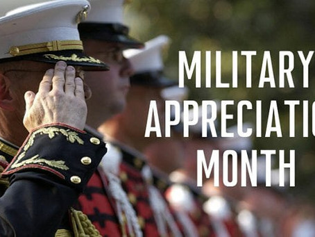 National Military Appreciation Month 2021