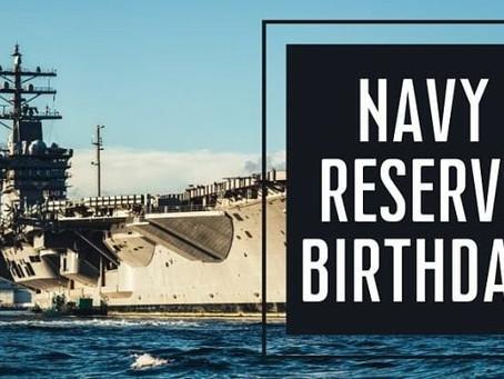 Navy Reserve Birthday