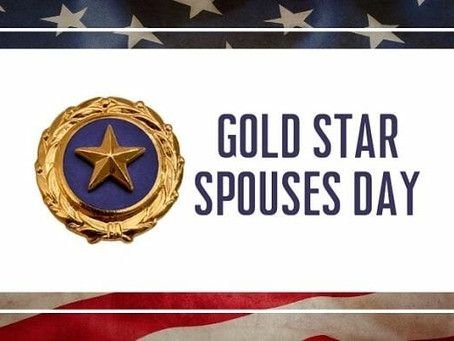 Gold Star Spouses Day 2021