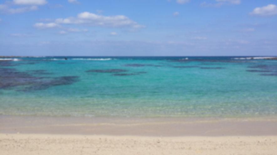 土盛海岸は海水浴場です。