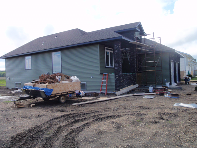 Custom Home exterior view - St. Isadore, AB