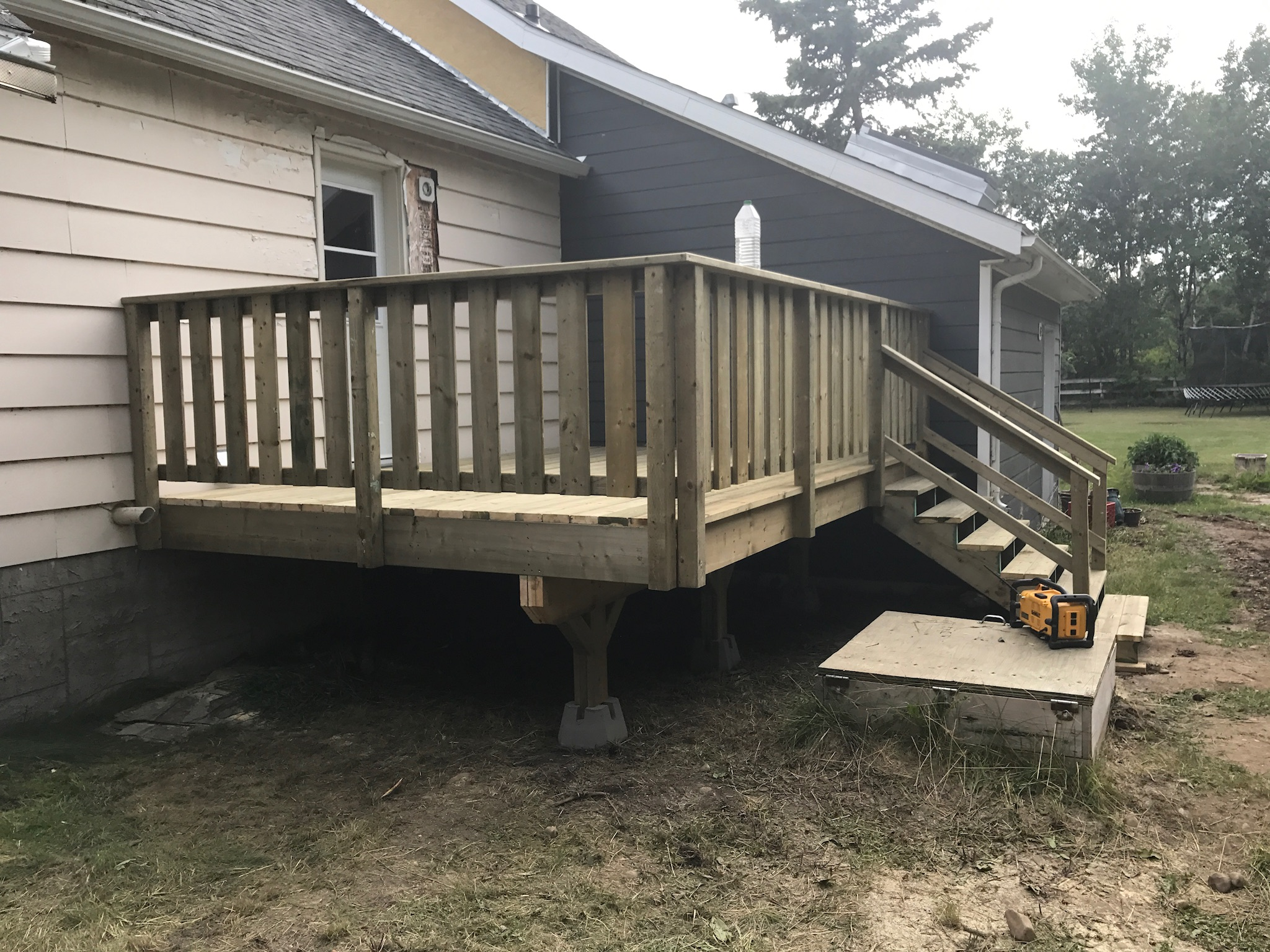 A new deck gives you back your outdoor space.