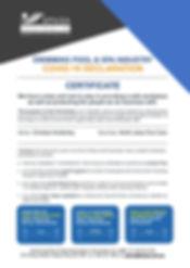 COVID-19 Declaration Certificate 320[939