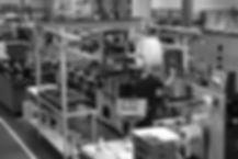 sala macchine per la stampa di etichette