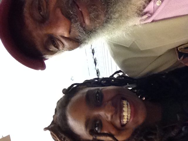 Dick Gregory and Darciea Houston