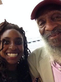 Dick Gregory and Darciea Houston