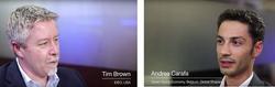 Tim Brown and Andrea Carafa Stanford World Economic Forum