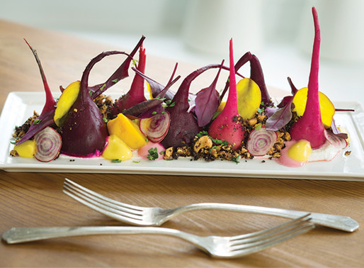 Beets Five Ways and a new approach to ingredients.