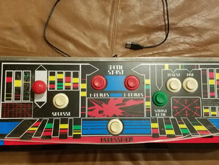 Arcade-style Defender Gaming Console Powered by Raspberry Pi