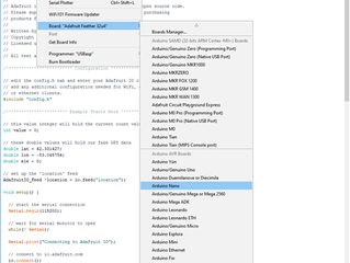 How to Install Microcontroller Firmware in the Arduino IDE Software