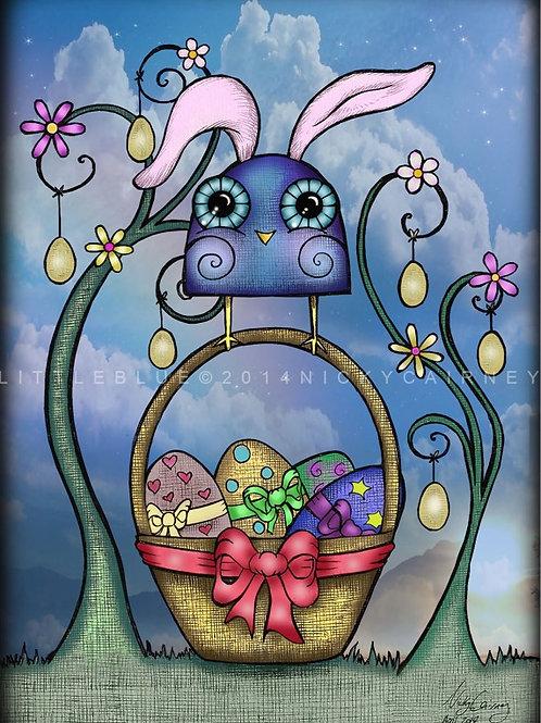 Little Blue 'Easter' card