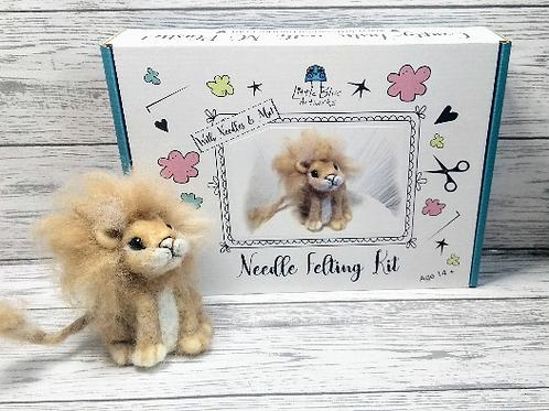 Needle Felting Kit | Lion