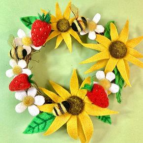 Needle felted summer wreath.jpg