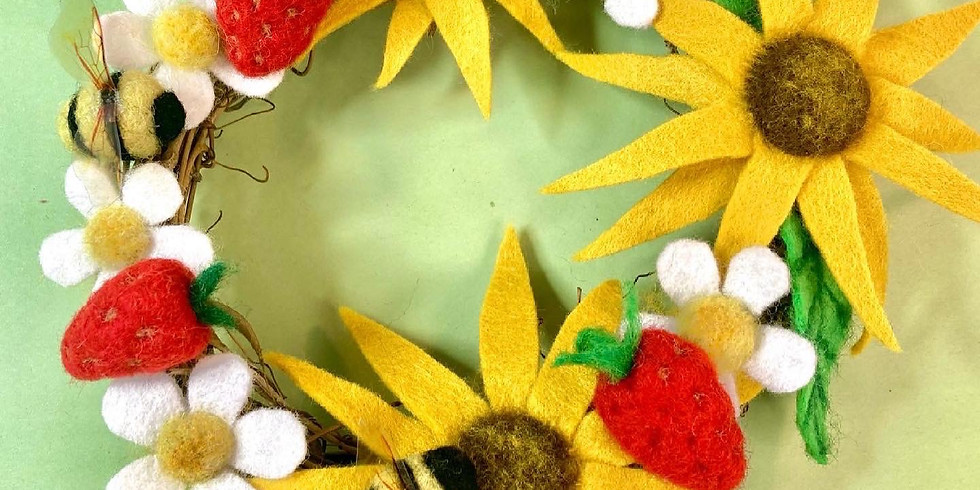 Summer Wreath Workshop (with all materials)