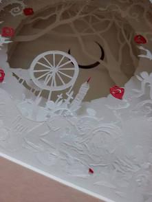 Close up Briar Rose (Sleeping Beauty)