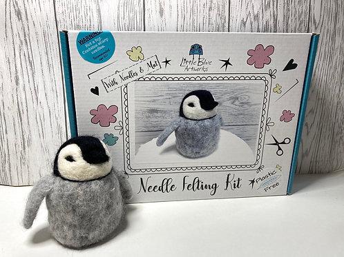 Needle Felt a Penguin Kit