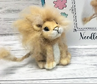 Needle felted Lion.png