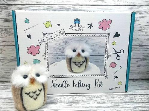Needle Felting Kit | Owl
