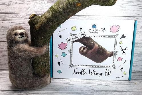 Needle Felting Kit | Sloth