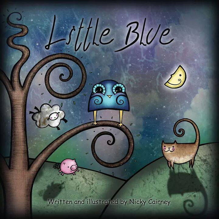 Little Blue Front Cover