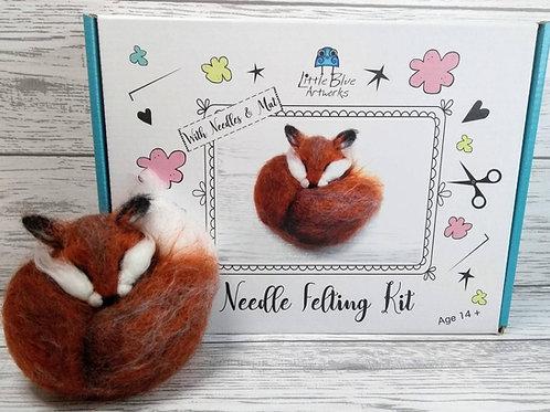 Needle Felting Kit | Fox