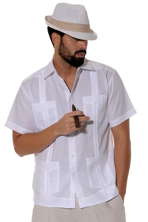 Chacabana Camisa Manga Corta Poliéster / Algodón