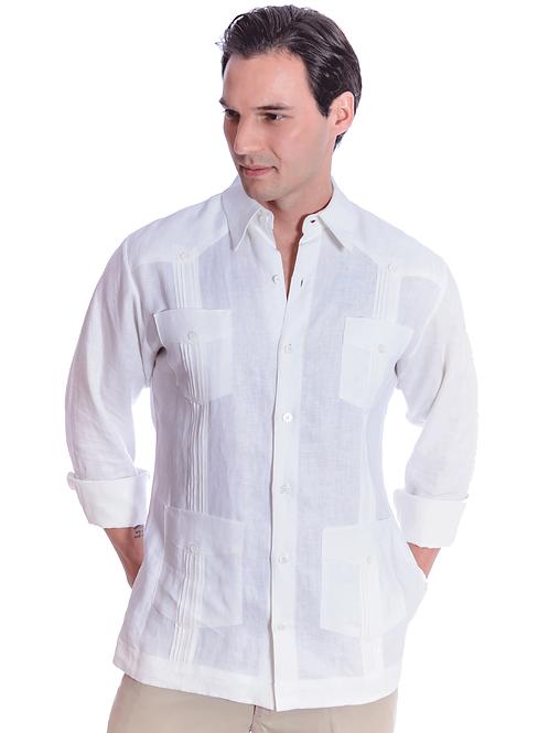 Chacabana Camisa Manga larga 100% lino