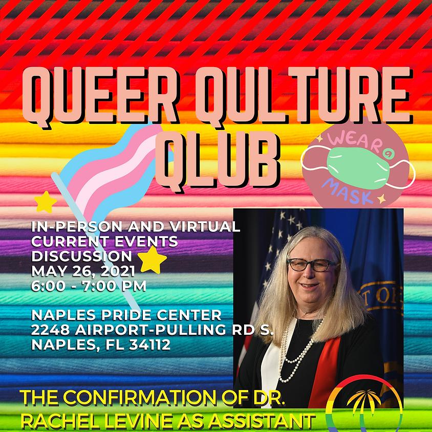 Queer Qulture Qlub - Current Event Discussion in English