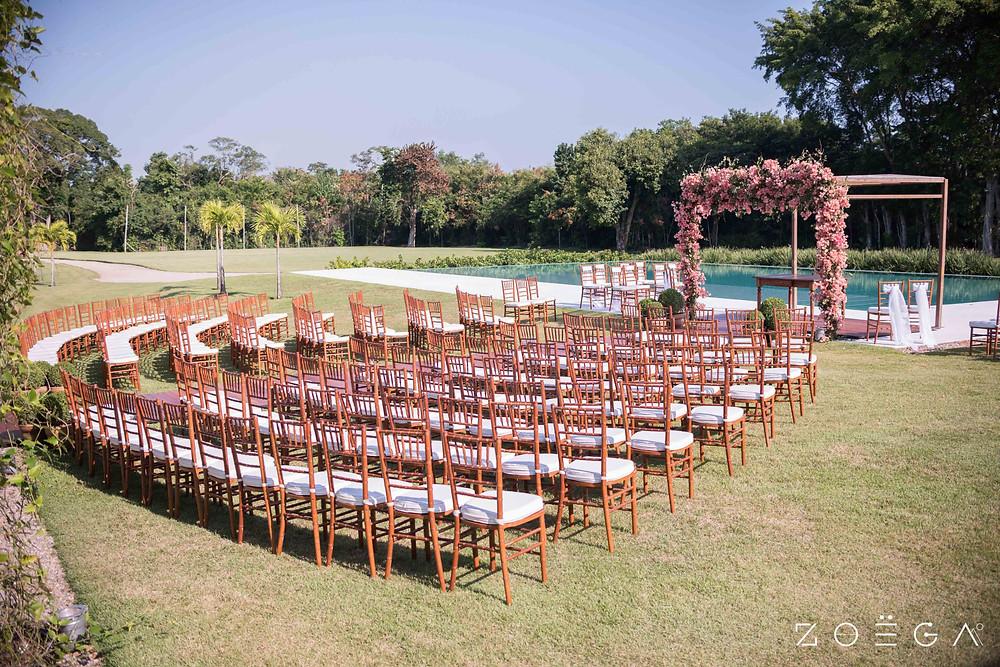 decorção cerimonia casamento