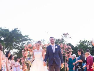 Casamento ao ar livre da Sara e Filipe: um amor da adolescência para todo o sempre