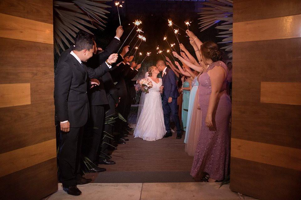 entrada noivos