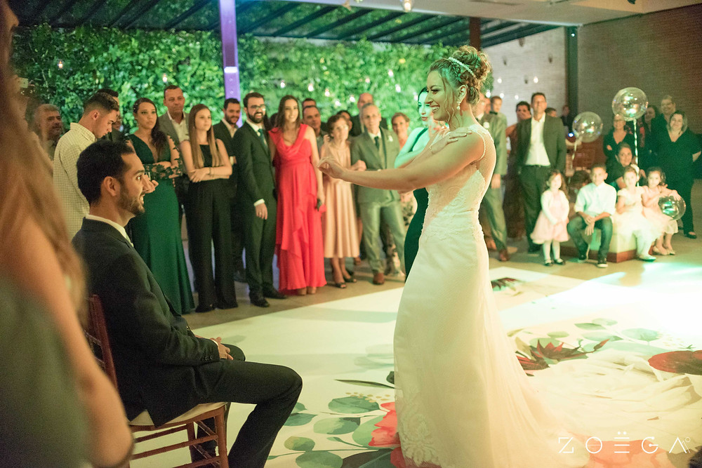 noiva dança