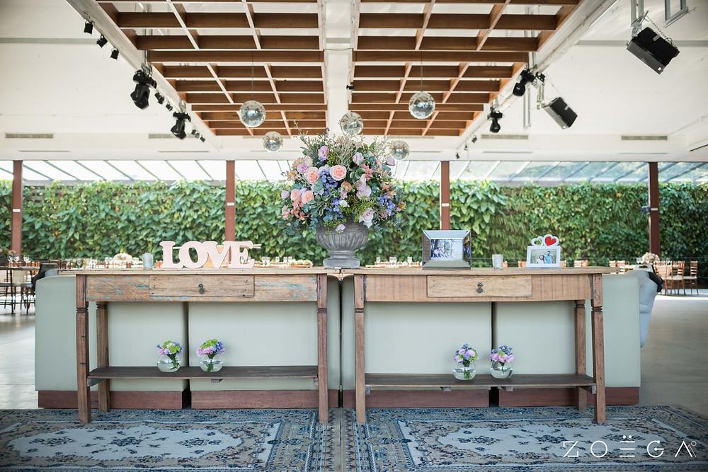open bar casamento rustico