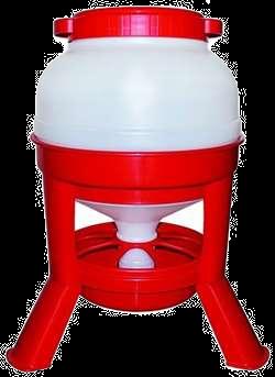 Foderautomat på 3 ben - 20 & 30 liter