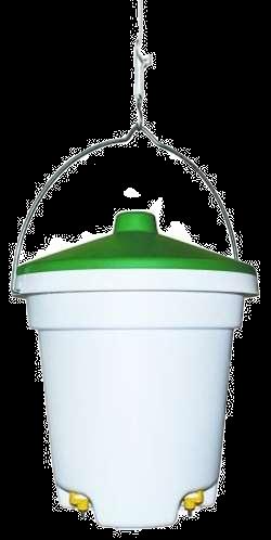 Drikkeautomat m/ låg og 3 nipler - 12 liter