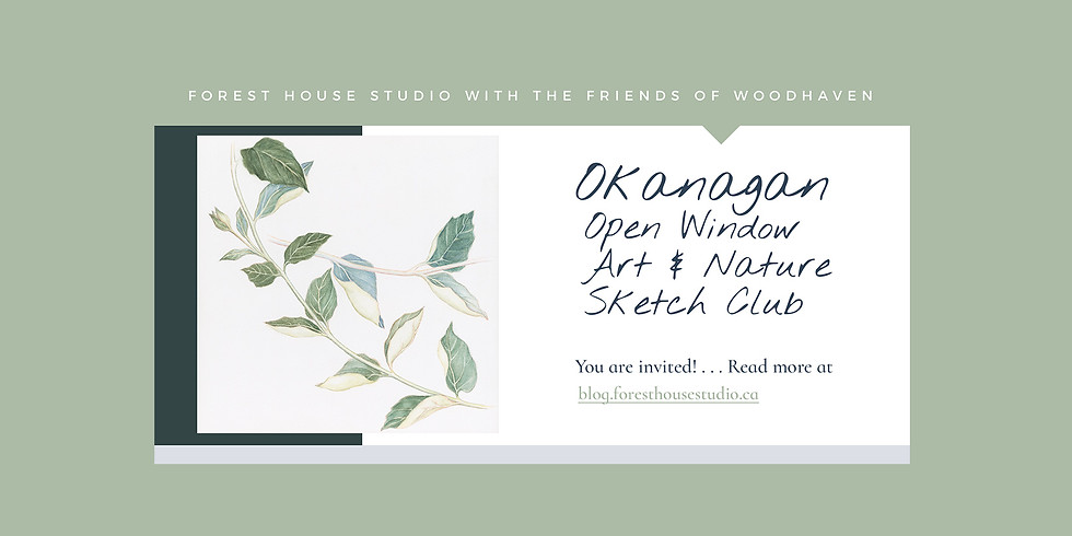 Open Window Sketch Club - Part II & III - April 11th and May 2nd