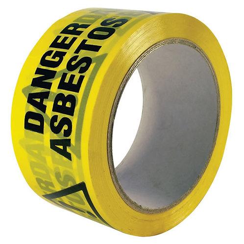 Danger Asbestos Warning Tape