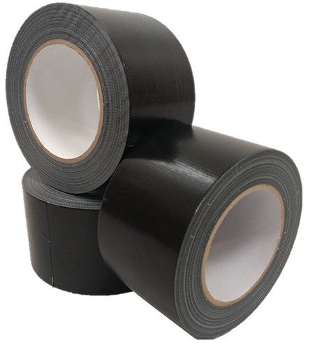 Black gaffa tape 72mm x 50m