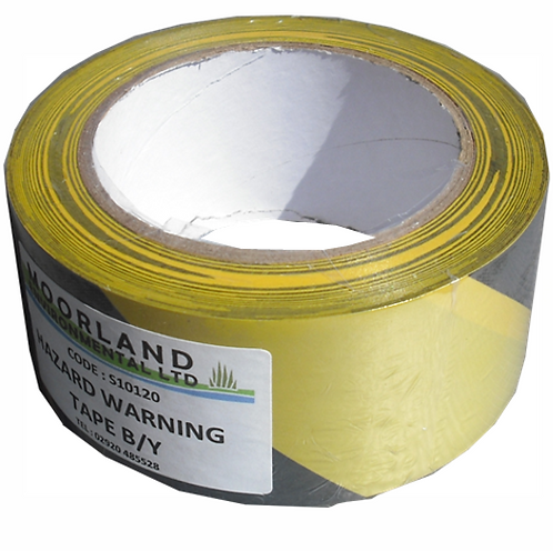 Hazard Warning Tape 50mm x 33m