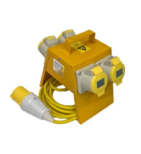 Splitter box 32amp 110v