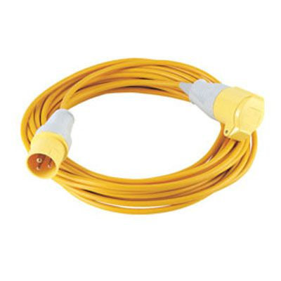 Extension lead 16amp 110v 1.5mm x 14m