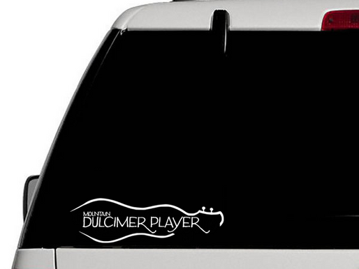 Dulcimer Window Decals Now Available!