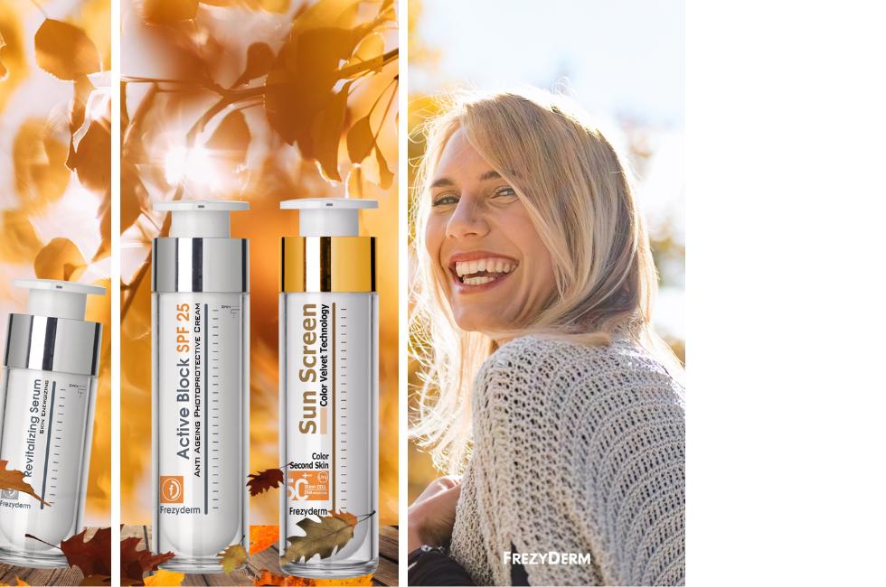 rutina de piel otoño frezyderm cremas an