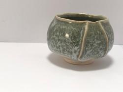 lichen moss faceted bowl 2017
