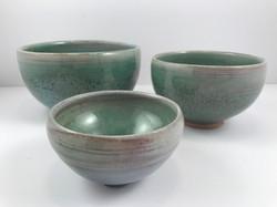 three green bowls 2017