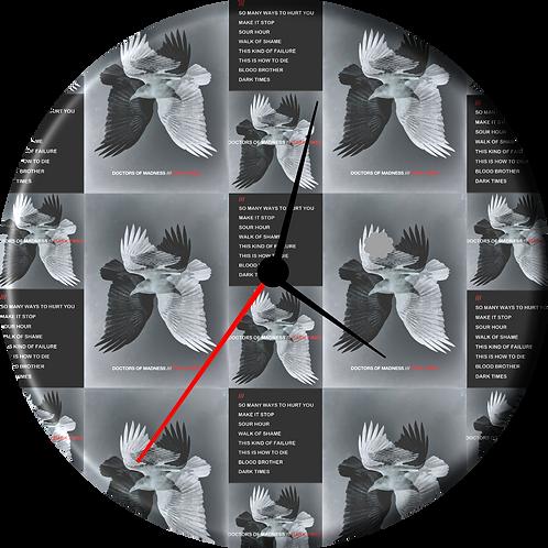 DARK TIMES Clock
