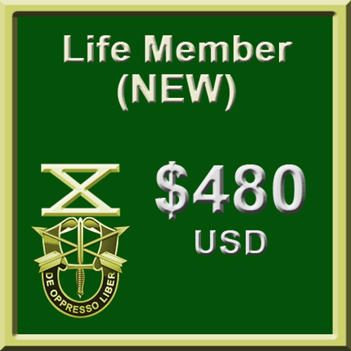 NEW Lifetime Membership