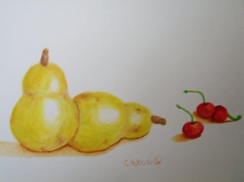 Pears and Cherries